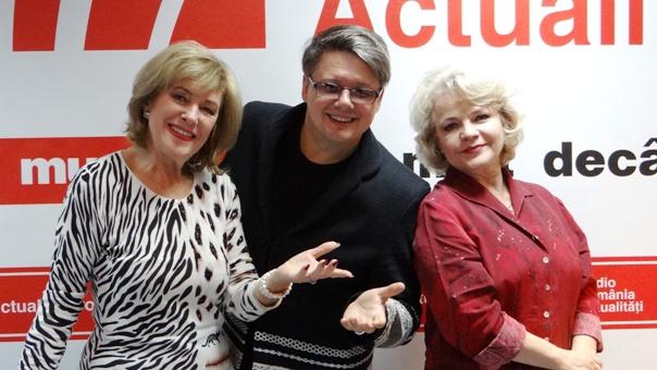 Stela Enache Marina Florea Paul Surugiu Fuego la Radio Romania 2018