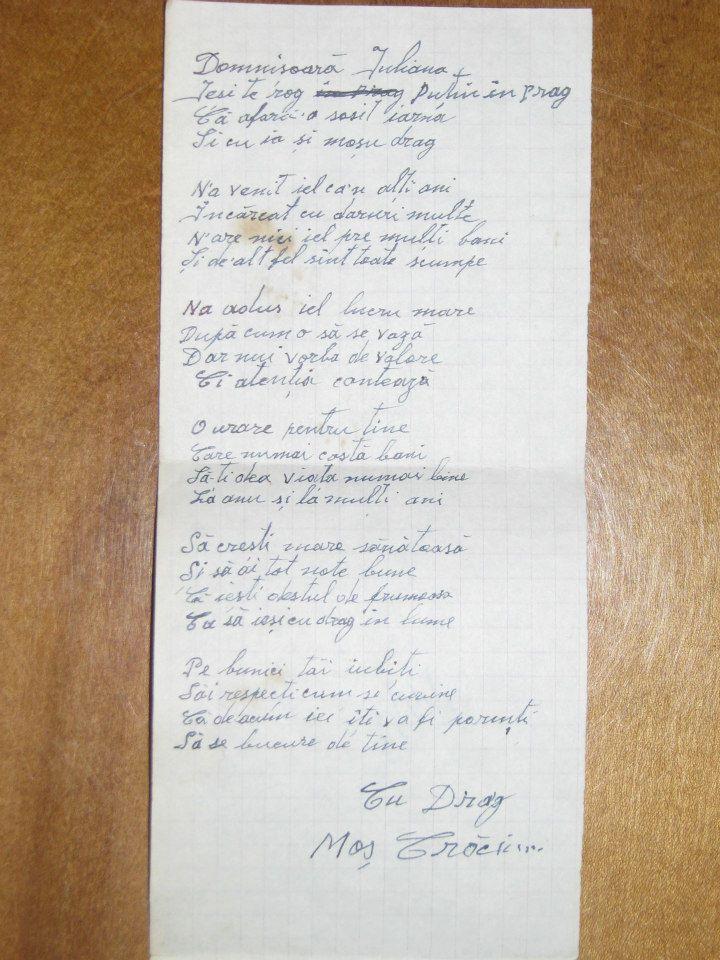 Scrisoare de la Moș Crăciun
