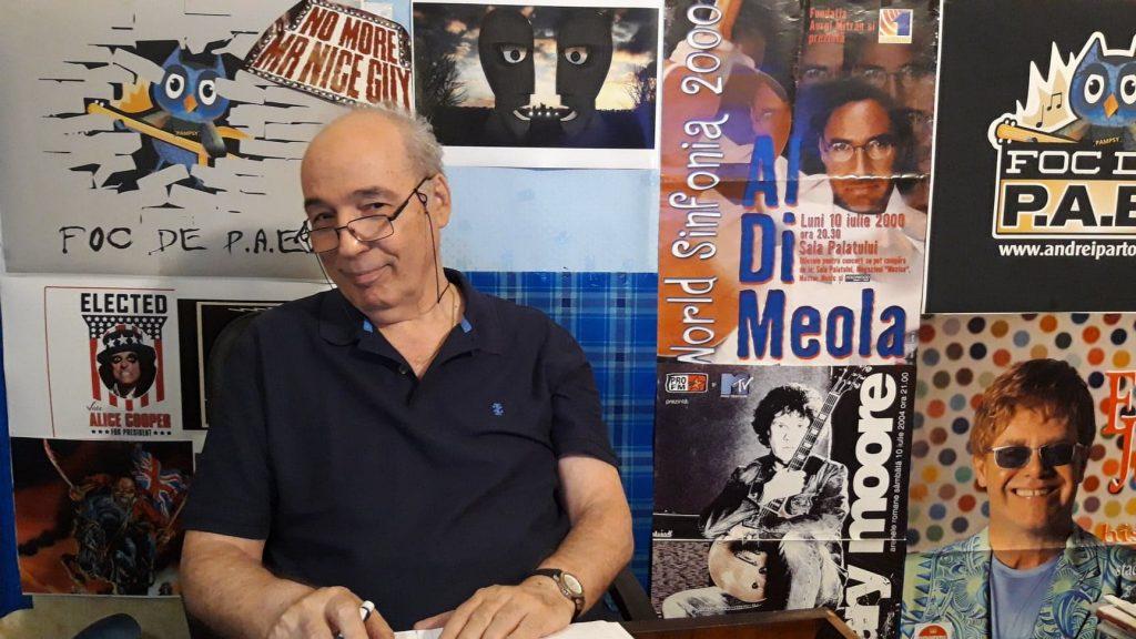 Andrei Partoș, live la Biblioteca pentru Toti - Carti pentru Romanii din Europa (20.03.2021)