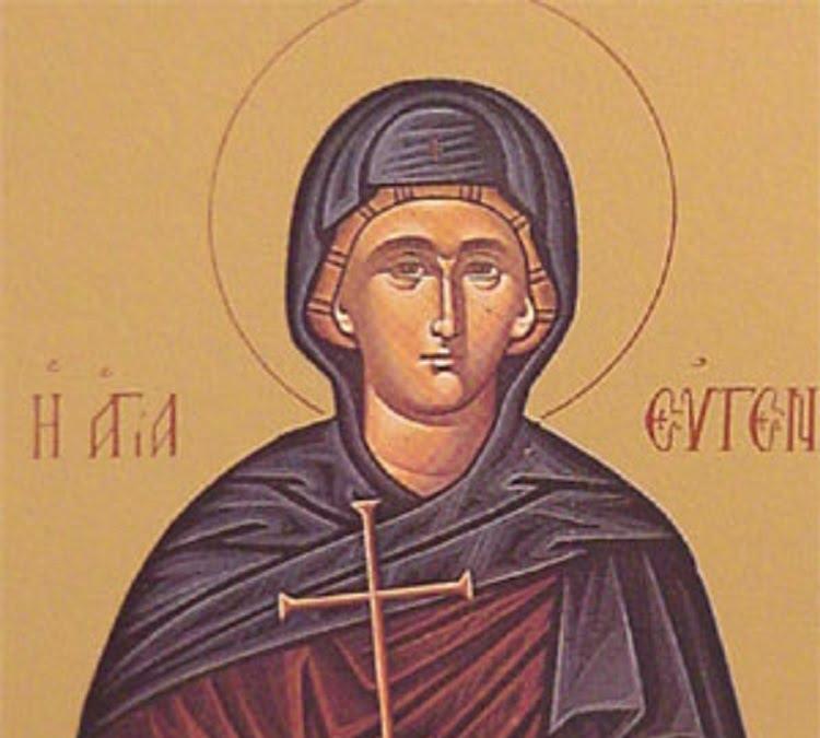 Sfânta Eugenia tămăduiește trupul și sufletul 24 decembrie