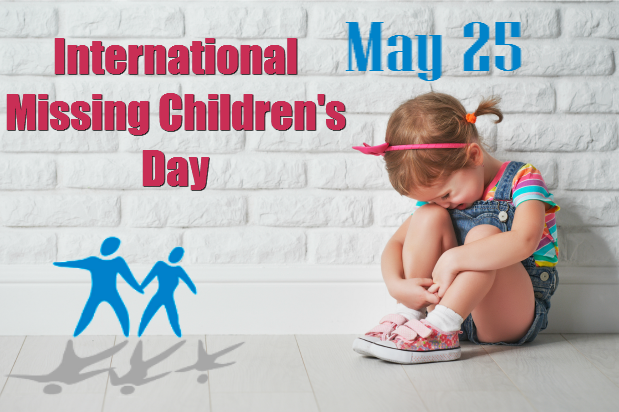 Ziua internaţională a copiilor dispăruţi (25.05)