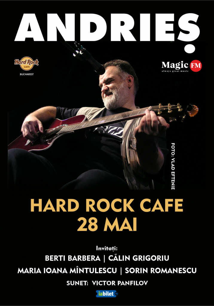 Alexandru Andries chiar revine la Hard Rock Café
