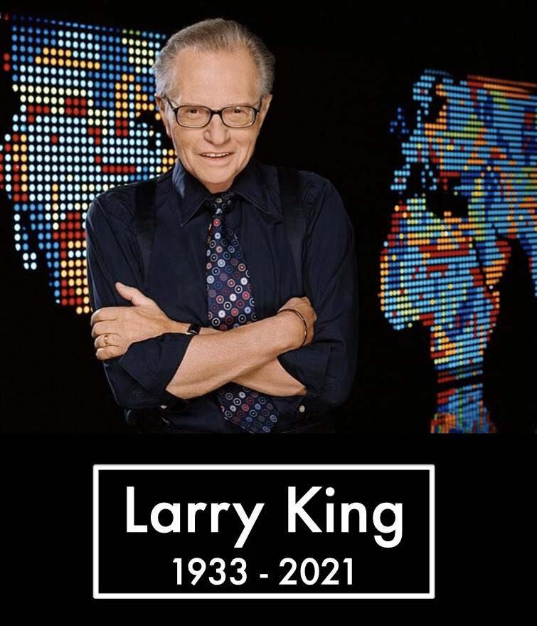 A murit Larry King. R.I.P!