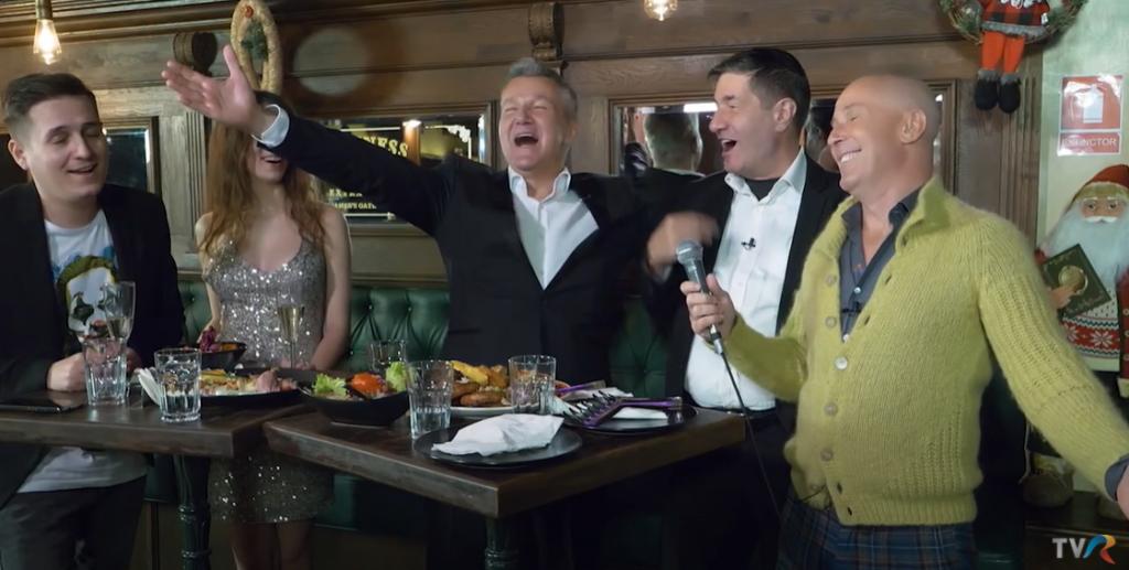 Revelion: În loc de numărătoarea de la miezul nopții, TVR ni l-a dat pe Dan Bittman cu sobița lui