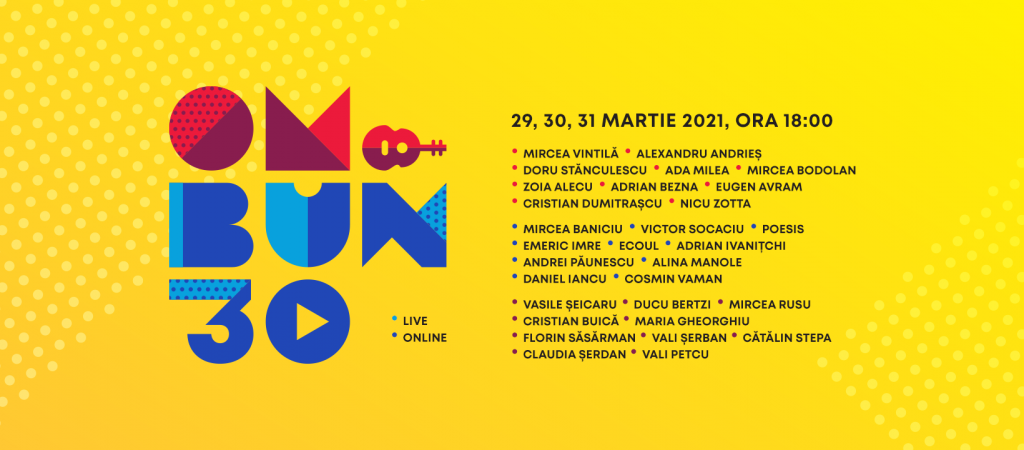 """Mircea Baniciu, Mircea Vintilă, Maria Gheorghiu, Mircea Rusu, Victor Socaciu și mulți alții povestesc despre Festivalul """"Om Bun"""""""