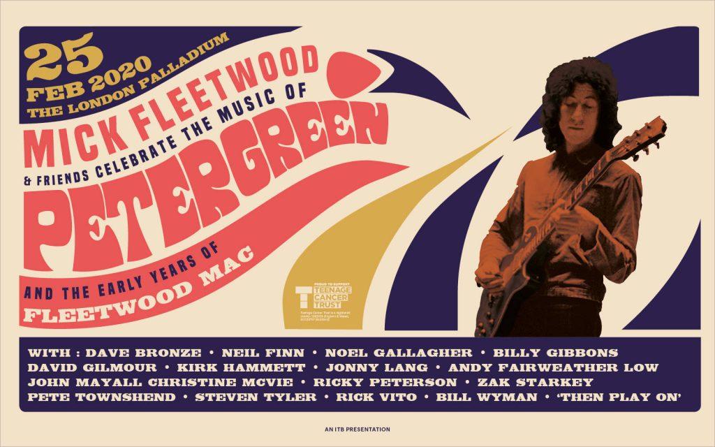 Tribut Peter Green: Mick Fleetwoodand Friends (Kirk Hammett, Billy Gibbons, Steven Tyler) - VIDEO