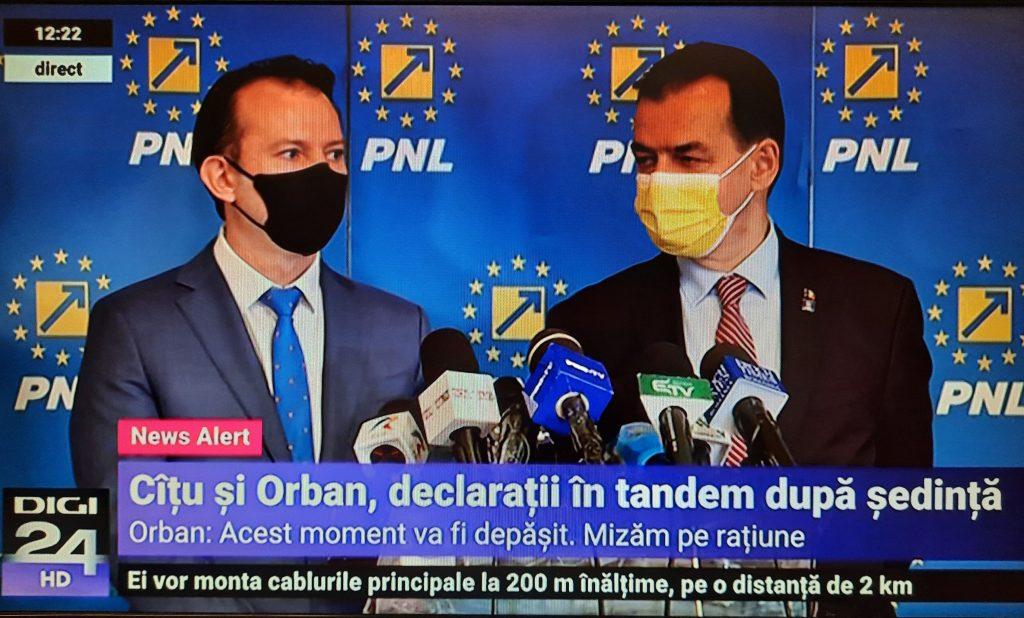 """Ludovic Orban: """"Acest moment va fi depășit. Mizăm pe rațiune"""""""