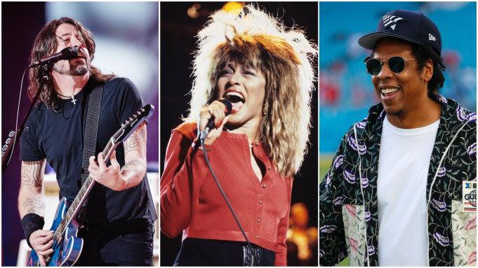 Jay-Z, Carole King, Go-Go's, Tina Turner, Kraftwerk, LL Cool J, Todd Rundgren și Foo Fighters vor fi incluși în Rock & Roll Hall of Fame