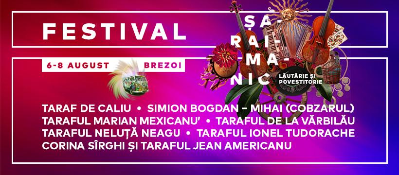 Festival Șaraimanic la Brezoi (6-8 august)