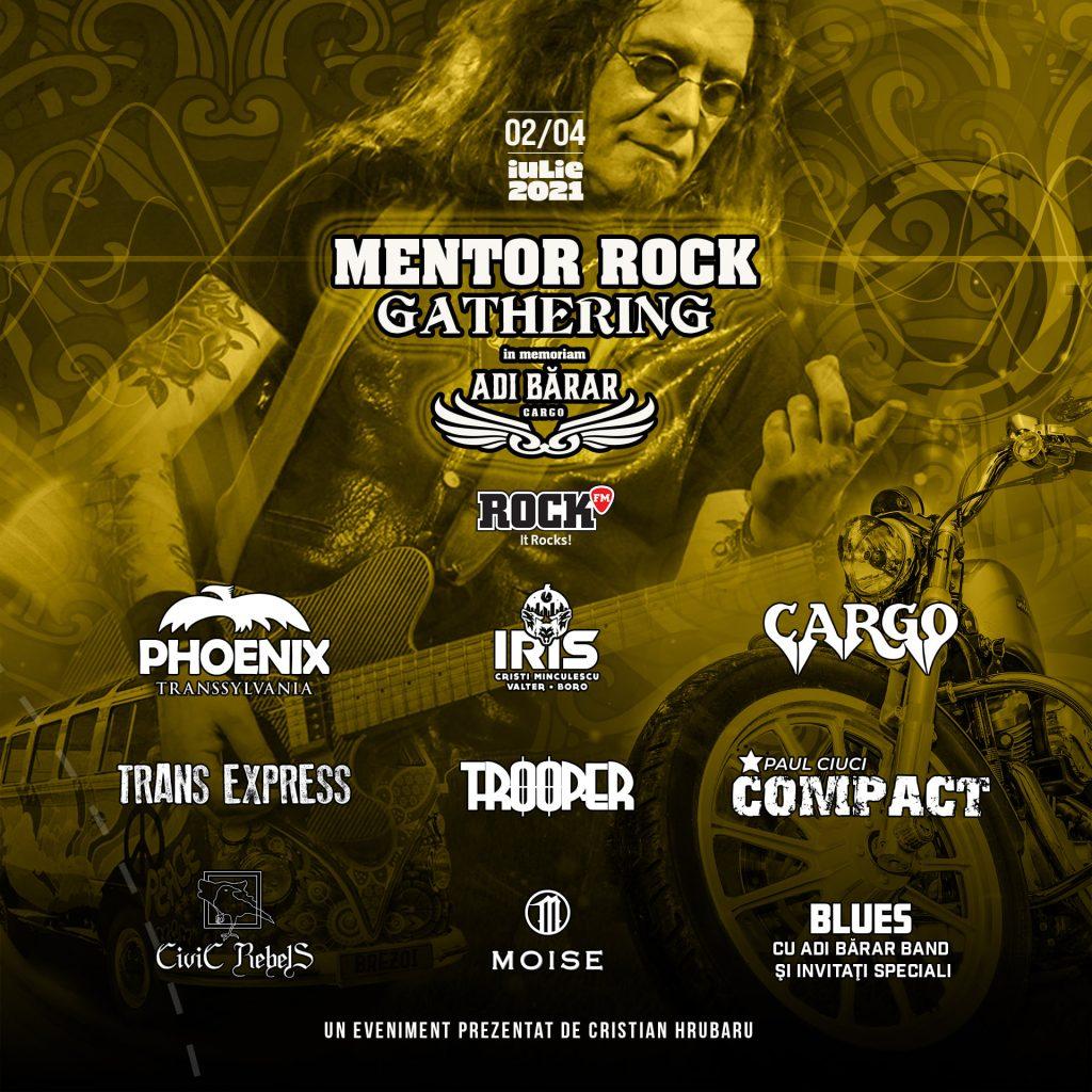 "Mentor Rock Gathering ""În Memoriam Adi Bărar"" la Summer Camp Brezoi (2 - 4.07.2021)"