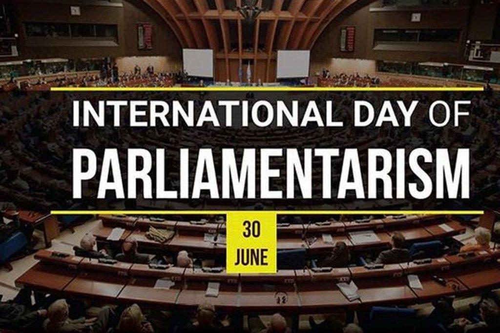 Ziua internationala a parlamentarismului (30.06)