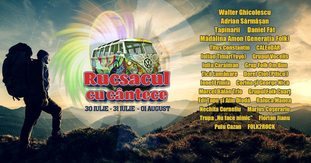 Rucsacul cu cântece: Festival cu și pentru muntomani la Summer Camp Brezoi (30 iulie - 1 august)