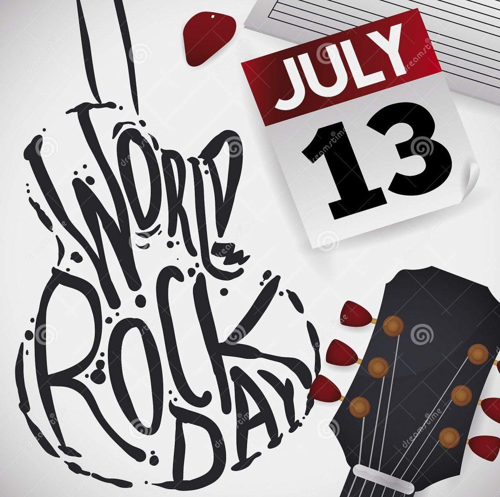 Ziua internațională a rock-ului (13.07)