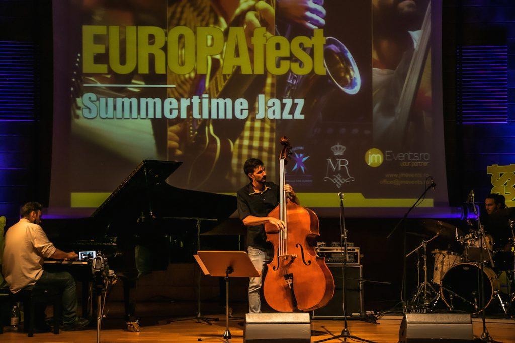 EUROPAfest  - Seri de jazz la Palat (până pe 24 iulie)