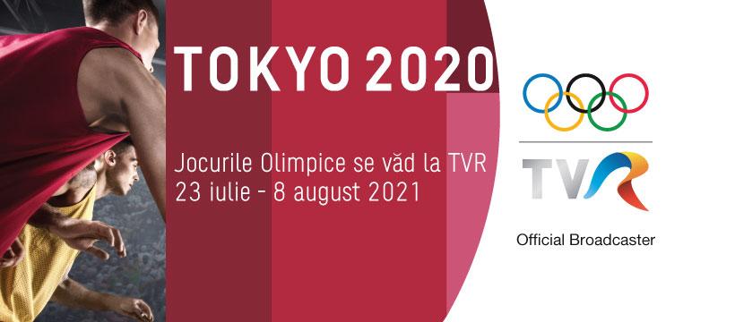 Din 23 iulie incep Jocurile Olimpice. TVR, official broadcaster #Tokyo2020