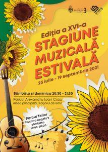 Stagiunea Muzicală Estivală din Sectorul 3 (23 iulie-19 septembrie) - Muzică bună, bucurie, emoție și prietenie, în Parcul Al.I. Cuza. De 16 ani, vară de vară, împreună!