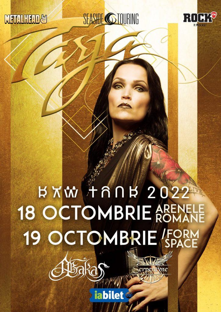 Tarja Turunen: doua concerte in Romania in 2022
