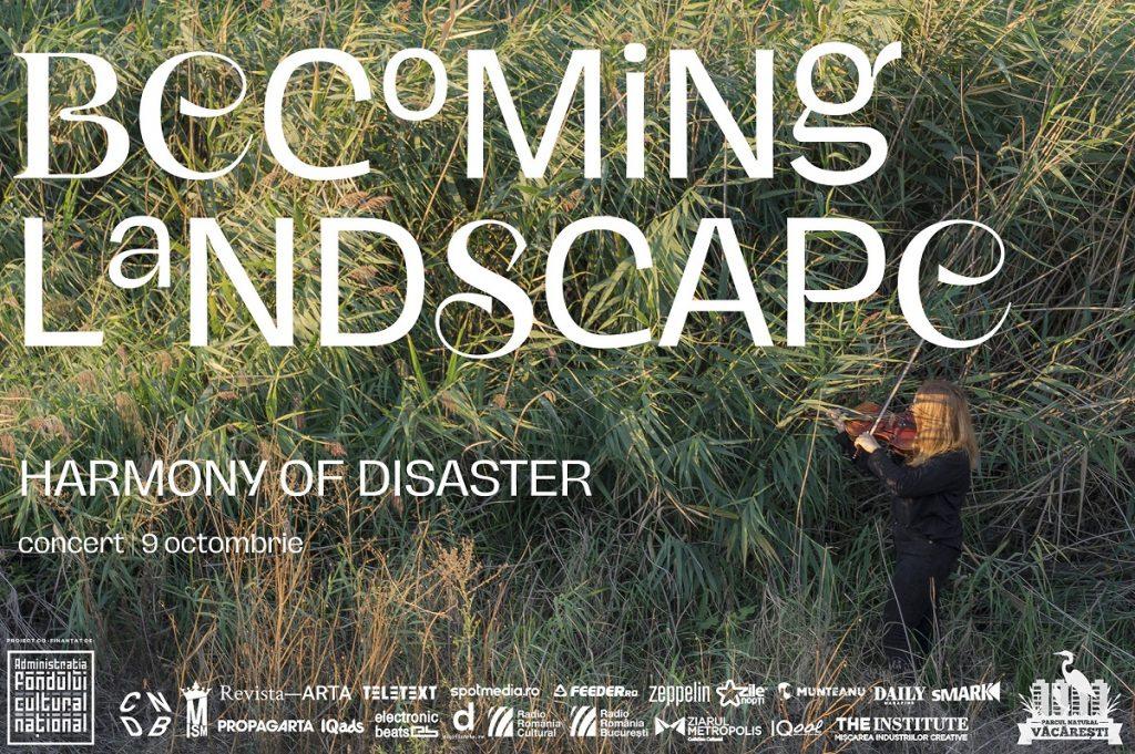BECOMING LANDSCAPE | Muzică experiment, un concert al naturii în Parcul Natural Văcărești (9 octombrie)