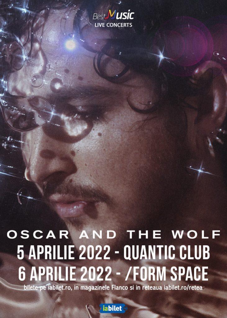 Oscar and the Wolf - Doua concerte in Romania (5 și 6 aprilie 2022)
