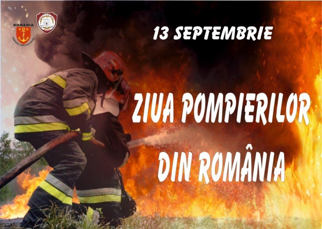 Ziua pompierilor din România (13.09)